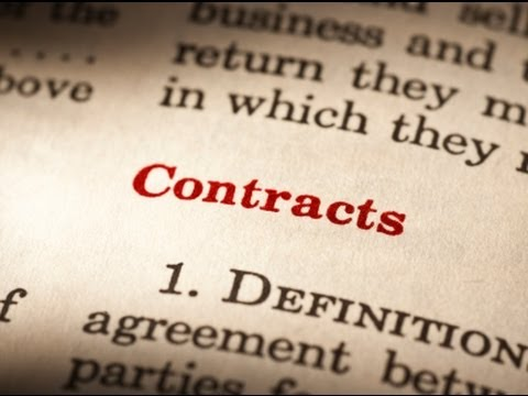 Some Points On Standard Form Contracts Rahuls Ias The